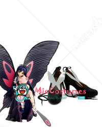 Accel World Kuroyukihime Cosplay Shoes