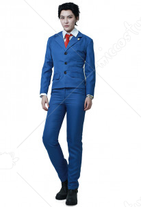 Ace Attorney Phoenix Wright Cosplay Costume