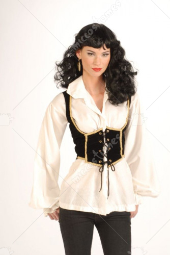Adult Female Pirate Vest Costume