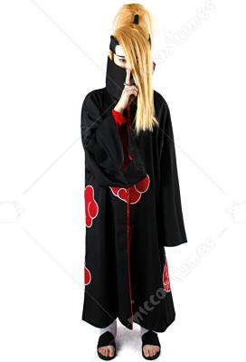 Naruto Akatsuki Deidara Cosplay Costume