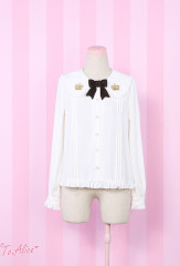 To Alice Royal School Lolita Shirt
