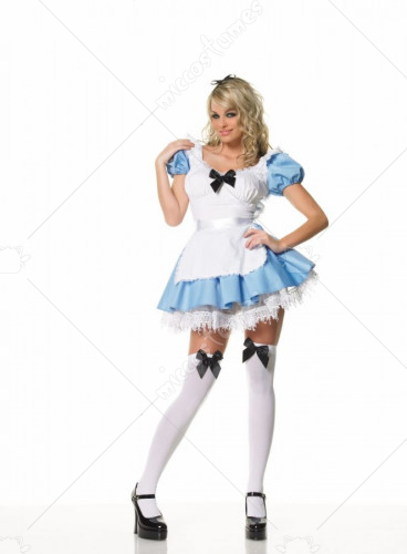 Alice In Wonderland Sexy Adult Blue Costume