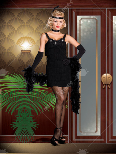 All That Jazz Flapper Adult Costume