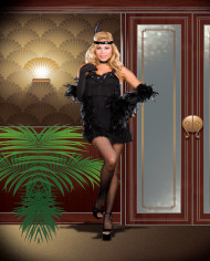 All That Jazz Flapper Adult Plus Costume