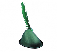 Alpine Hat With Feather Economy