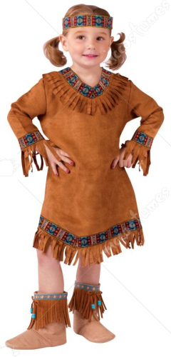 American Indian Girl Toddler Costume