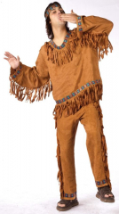 American Indian Man Plus Size Adult Costume