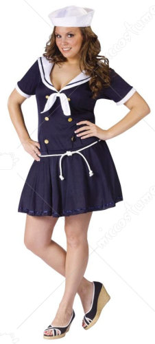 Anchors Away Sailor Plus Costume