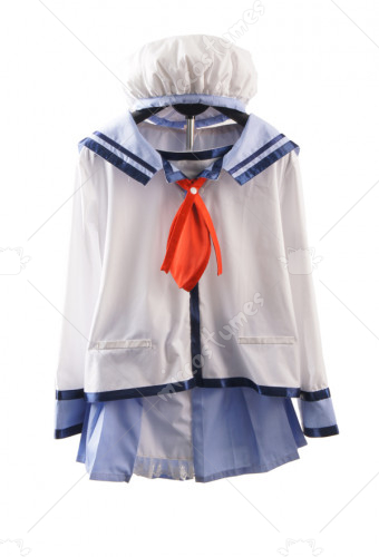 Angel Beats Nakamura Yuri Cosplay Costume