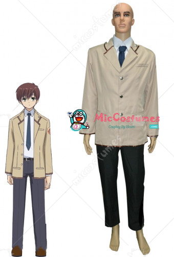 Angel Beats SSS Boys School Uniform Cosplay Costume
