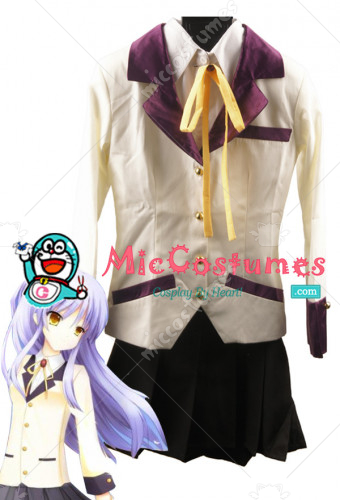 Angel Beats Tachibana Kanade Cosplay Costume