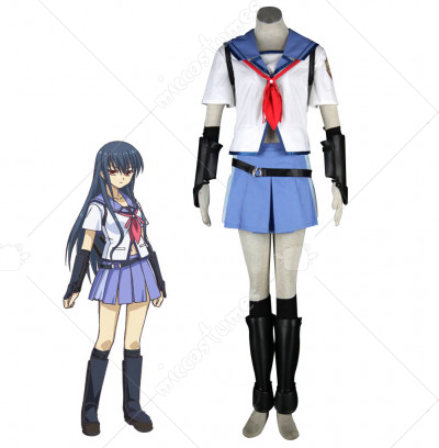 Angel Beats Shiina Cosplay Costume