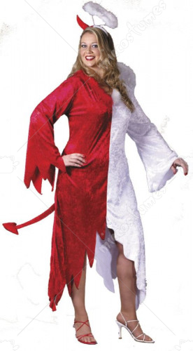 Angel and Devil Plus Size Adult Costume