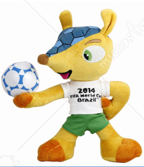 Brazil World Cup Mascot Stuffed Toy