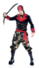 Apocalypse Pirate Mens Adult Costume