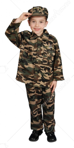 Military Officer Toddler Toddler Costume