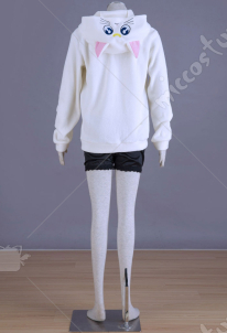 Sailor Moon White Cat Artemis Cosplay Coat