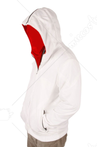 Assassin's Creed Revelations Desmond Miles Hoodies White XX-Large