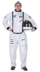 Astronaut Suit Adult White Large Adult Costume