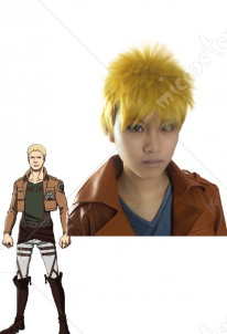 Attack on Titan Reiner Braun Cosplay Perruque