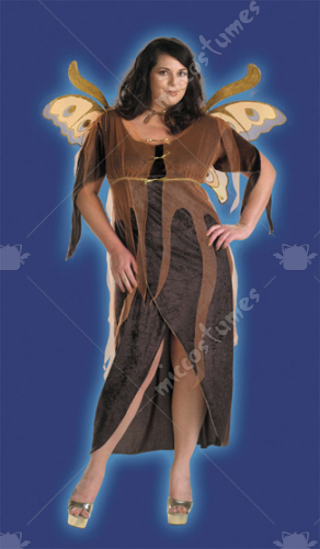 Autumn Fairy Adult Costume Plus Size