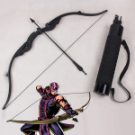 Avengers Hawkeye Clint Barton Bow and Arrow Set