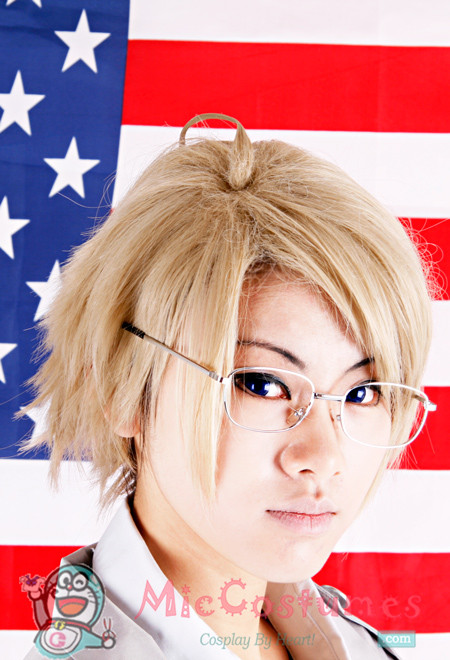 Axis Powers Hetalia America Cosplay Perücken