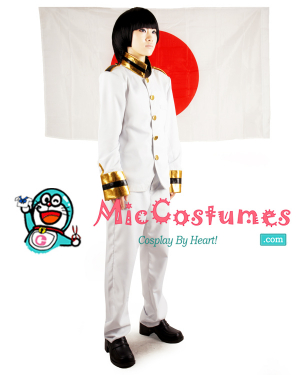 Axis Powers Hetalia Japan Cosplay Costume Men XL/L