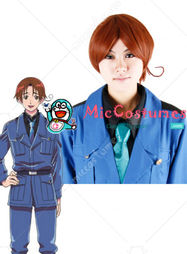 Axis Powers Hetalia Italy Cosplay Wig