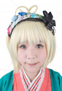 Blue Exorcist Moriyama Shiemi Cosplay Perruque