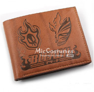 Bleach Arrancar Mask Bifold Wallet Brown