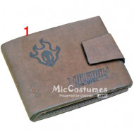 Bleach Bifold Wallet Grey
