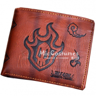 Bleach Hollow Bifold Leather Wallet