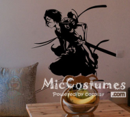 Bleach Kuchiki Rukia Waterproof Wall Sticker