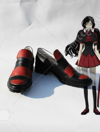 BLOOD C Kisaragi Saya Cosplay Shoes