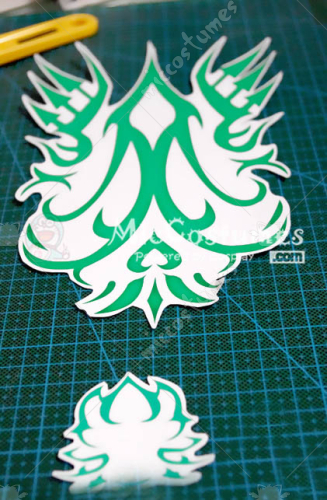 BRAVE10 Sanada Yukimura Cosplay Tattoo Sticker