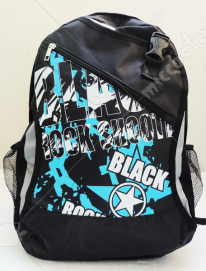 Black Rock Shooter Black School Bag