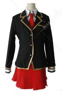 Baka to Test to Shoukanjuu Women Winter Uniform Cosplay Costume