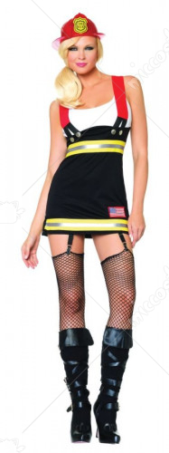 Backdraft Babe Adult Costume