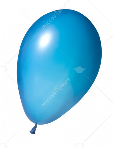Balloon Met 11 In Lt Blue Gr