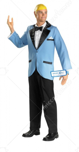Barbies Prom Date Ken Adult Costume