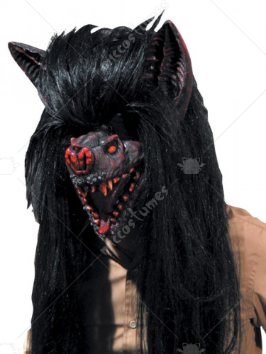 Bat Hairy Beast Mask