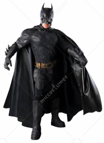 Batman Latex Suit Adult Costume