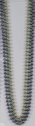Beads 48In 10Mm Metalic 12Eq 1
