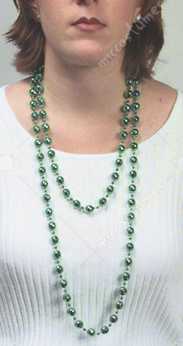 Beads 60In Green 12Mm 12 Eq 1