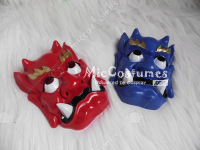 Bean Throwing Festival Japanese Devil Mask