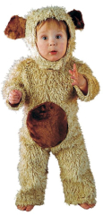 Bear Oatmeal Toddler Costume