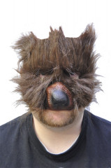 Bear plush mask