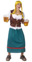 Beer Girl Male Adult Plus Size Costume