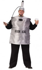 Beer Keg Plus Size Adult Costume